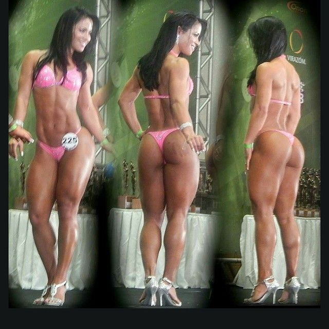 Nude female ass