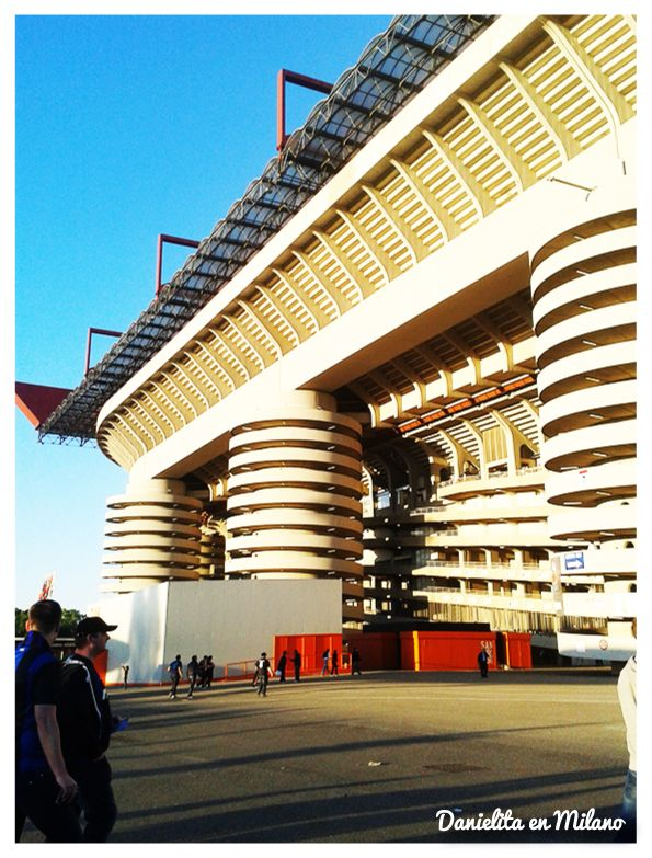 """Stadio San Siro """"Giuseppe Meazza"""" ... previa Milan - Inter 4/5/2014"""