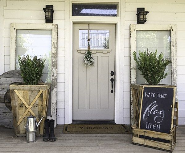 10  best ideas about farmhouse outdoor decor on pinterest ...