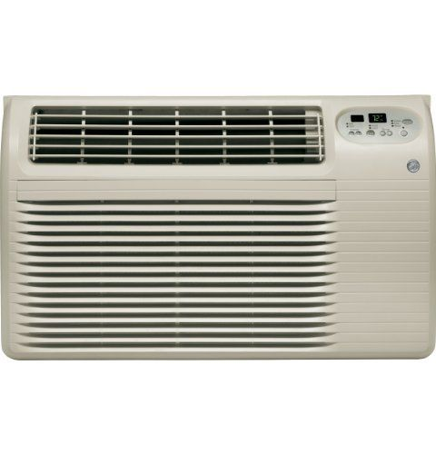 GE 230 Volt Built-In Heat/Air Conditioner - AJEQ12DCE by GE. $955.49. GE 230/208 Volt Built-In Heat/Cool Room Air Conditioner11,800/11,600 Cooling BTU11,200/9,200 Resistance Heat BTU3,470/2,850 Watts Heat9.4/9.4 EER230/208 VoltsR-410A RefrigerantElectronic Controls with RemoteElectronic Digital ThermostatFour-Way Air DirectionUp-Front, Washable Air Filter2 Cooling / 2 Heating / 2 Fan Only SpeedsSoft Gray