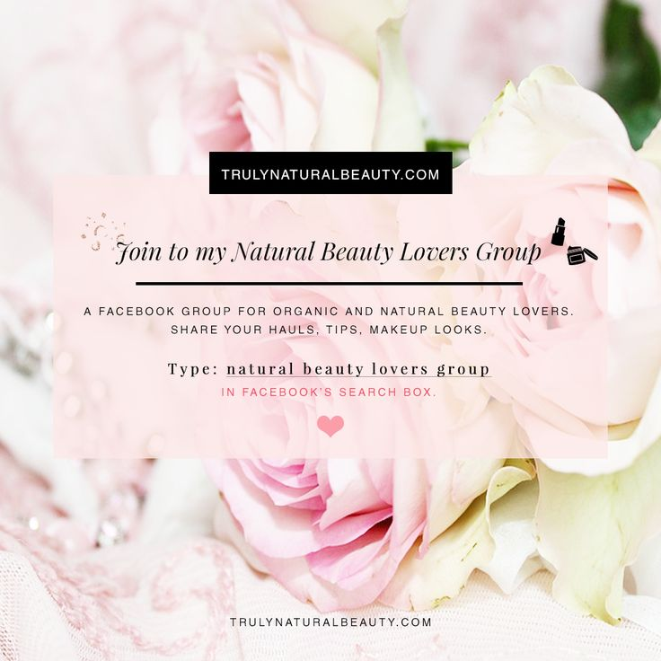 Join to my natural beauty group! :) <3 I'd love to connect with like-minded people and chat about beauty. ^^ Come and join! <3 organic beauty blogger, natural beauty blogger, green beauty blogger, healthy living, all natural ingredients, nontoxic makeup, crueltyfree makeup