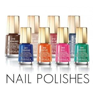 Complete Mavala Nail Polish Line available at www.naturalbeautybrands.com