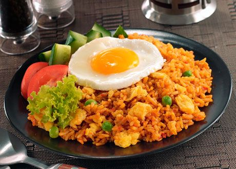 Nasi goreng (Indonesian Fried Rice), Photo credit: Courtesy Esquire Indonesia, Recipe: Esquire.com
