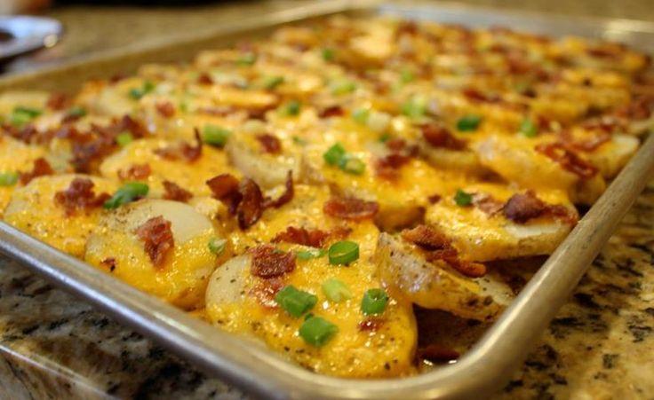 Sprinkle Some Sunshine!: cheesy bacon potato bites party!