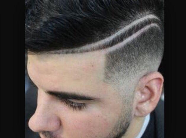 Mens hair shaved designs girl