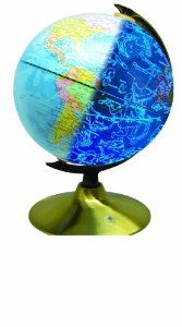 """Celestial 8"""" Globe by Fascinations Shows 88 constellations whenver the room darkens Just Luv'd on @Luvocracy  """