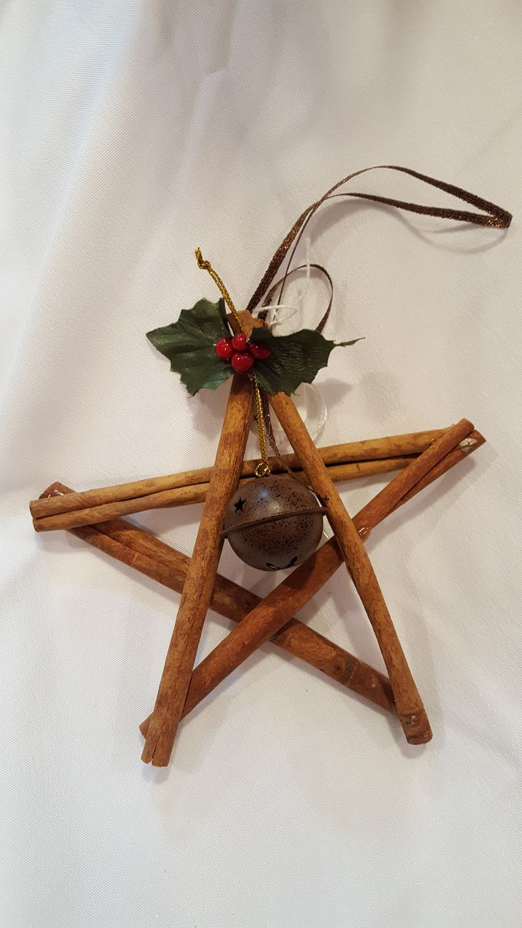 Primitive christmas ideas to make - Cinnamon Star Ornament