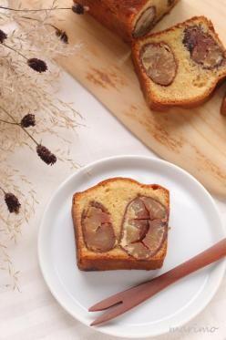 「栗のテリーヌ(栗のパウンドケーキ)」marimo | お菓子・パンのレシピや作り方【corecle*コレクル】