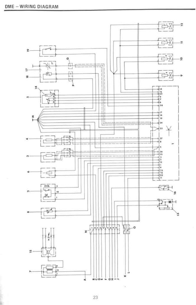 classic import car wiring diagram