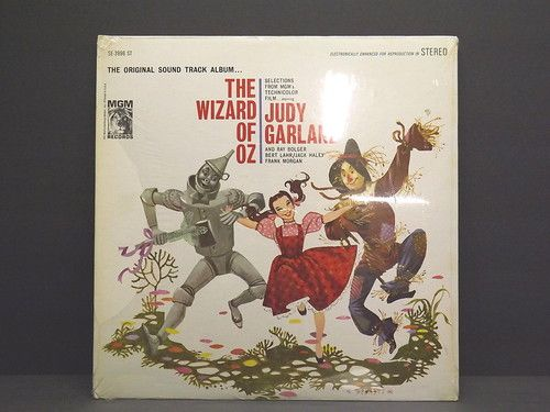 When I was little there were no VCR's or DVD....just hours and hours of listening to my favorite stories on my little blue record player.   The Wizard of oz Soundtrack SEALED Vinyl LP Judy Garland Gatefold Beckett | eBay