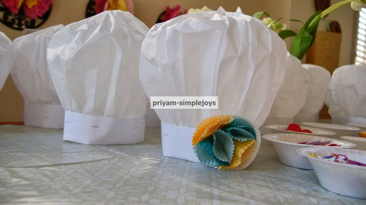 DIY - Paper Chef Hats TUTORIAL