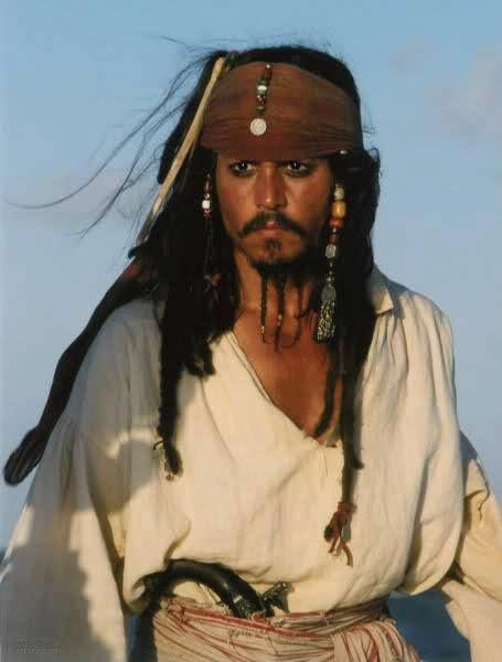 *CAPTAIN JACK SPARROW ~ Pirates of the Caribbean, starring: Johnny Depp