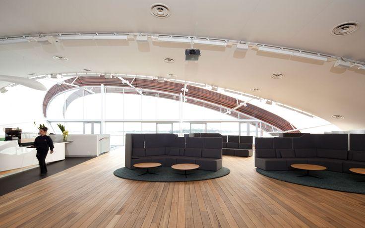 Foundation Sofa & Morrison tables by Simon James @ The Cloud