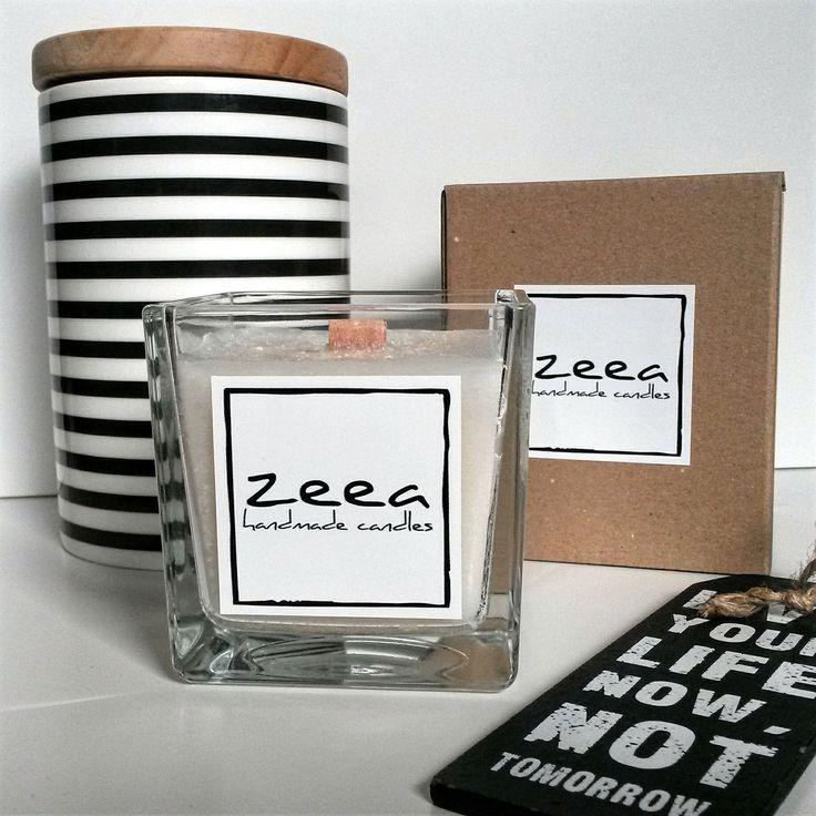 Podekscytowani... projektujemy nową kolekcję świec z drewnianymi knotami.