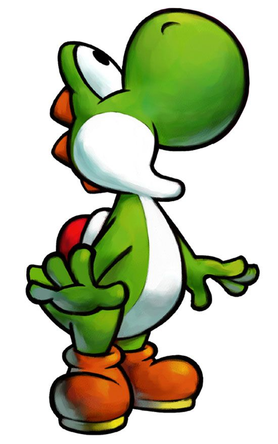 #82- Yoshi (probably my favorite video character of all time)