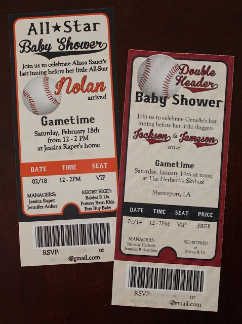 Baseball Baby Shower - This would be awesome! Great ideas for a really cool baseball themed baby shower...