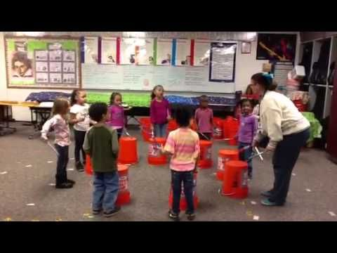 Bucket Drumming Pre K - YouTube