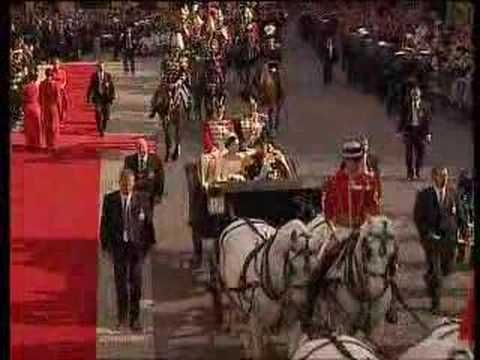 Frederik & Mary of Denmark's Wedding Carriage Ride