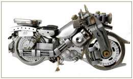 Motocykl- watch motorcycle Raw