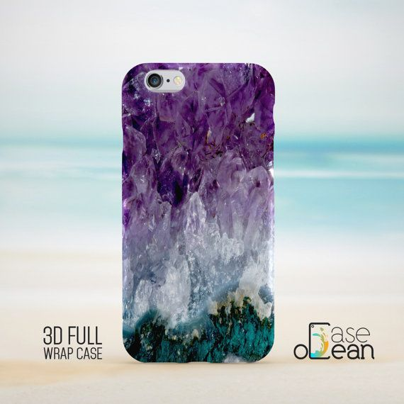 Amethyst Stone Phone Case iPhone 5 5s 5c phone case by CaseOcean