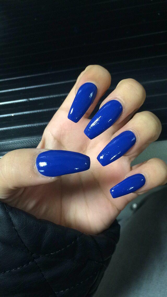 25 Best Ideas About Royal Blue Nails On Pinterest Royal