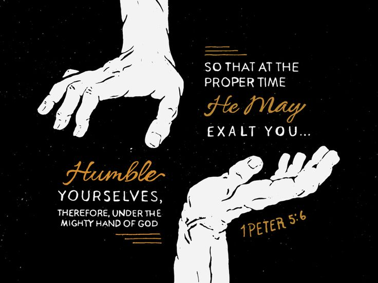 1Peter 5:6