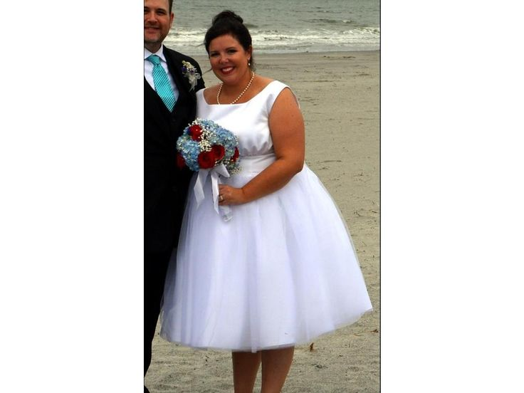 We have short tea length plus size wedding dresses at Darius Cordell Fashion Ltd.  Custom #bridalgowns as well as replicas are what we offer to brides all over the globe. Get pricing on other #plussizeweddingdresses (or on any picture you have) at http://www.dariuscordell.com/featured_item/plus-size-wedding-dresses-bridal-gowns/