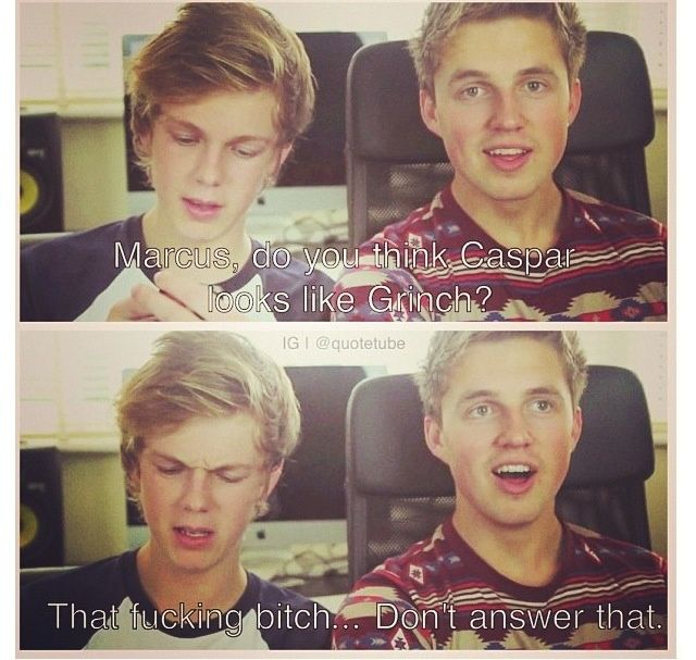 Caspar Lee And Marcus Butler