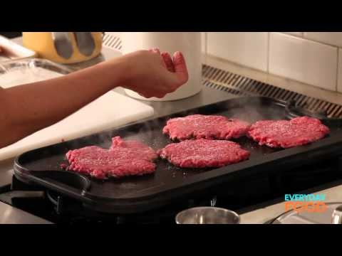 Old-Fashioned Cheeseburgers | Everyday Food with Sarah Carey