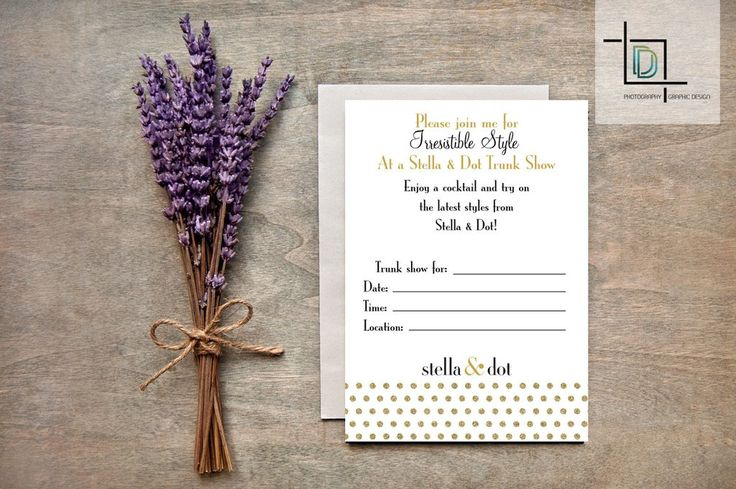 33 best stella dot jewelry images on pinterest for Stella and dot invitation templates