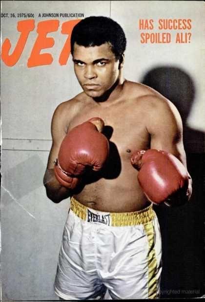 buy asics gel lyte speed Jet magazine  October 1975  Muhammad Ali
