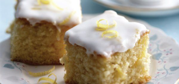 Lemon Drizzle Squares - A great all in one recipe - Perfect for Afternoon Tea!