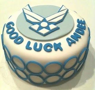 Air Force Cake Idea