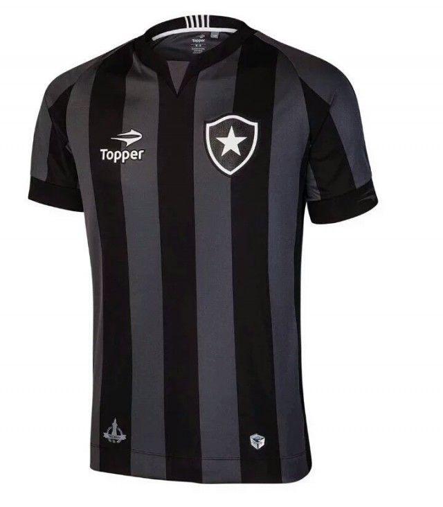 Camisas do Botafogo 2016-2017 Topper Preta