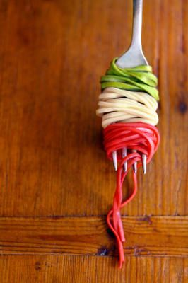 Taste of Italy. Italian Heritage <3 Pasta <3 Color <3 YUM!!!