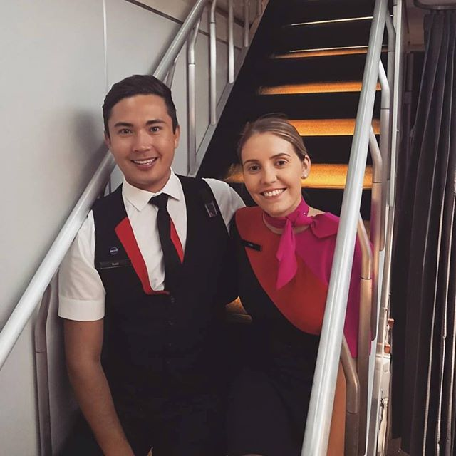 crewLIFEcrewSTYLE 👍 Hi from our friends at @qantas 🔹🔸🔹🔸🔹🔸🔹🔸🔹🔸🔹🔸🔹🔸🔹🔸 ✈Airline - Qantas 👥 Credit - @caitlinjay_ 🔹🔸🔹🔸🔹🔸🔹🔸🔹🔸🔹🔸🔹🔸🔹🔸 🚩 Tag your crew uniform shots with #cabincrewthreads for a REPOST🚩 🔹🔸🔹🔸🔹🔸🔹🔸🔹🔸🔹🔸🔹🔸🔹🔸 #cabincrew #crew #aircrew #hostie #officeinthesky #crewfie #crewlife #airline #avgeek #aviationgeek #aviation #airline #lifeinthesky #flightattendantlife #airlinescrew #flightattendant #unitedbywings #trollydolly #wanderlust…