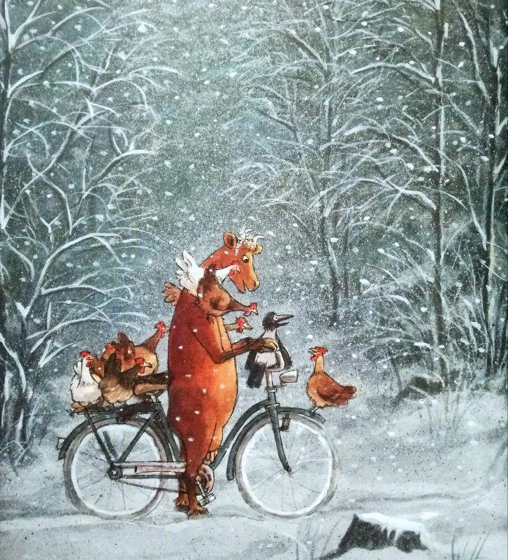 Mama Muh feiert Weihnachten, Verlag Friedrich Oertinger, 2009