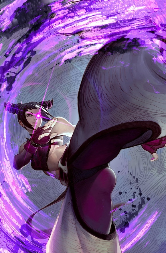 Juri Han - Street Fighter - √