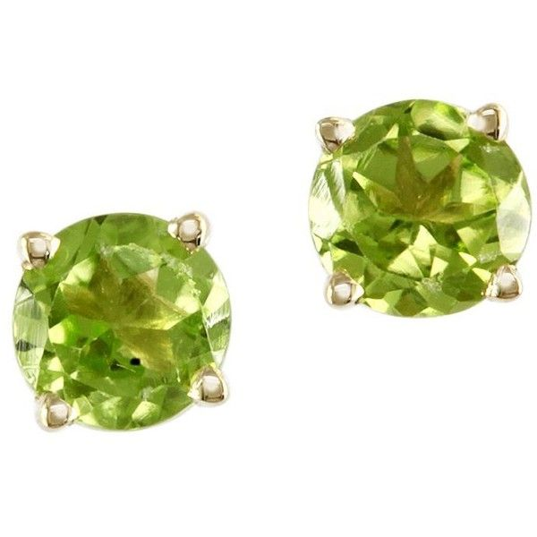 Effy 14K Yellow Gold and Peridot Earring ($150) ❤ liked on Polyvore featuring jewelry, earrings, green, gold jewelry, yellow gold peridot earrings, peridot jewelry, 14 karat gold earrings and green earrings