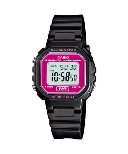 LA-20WH-4A-Brand-New-Casio-Watch-Ladies-Stopwatch-Led-Light-Digital-Resin-Band