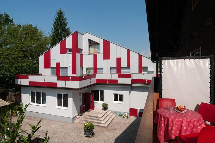 neue Fassade, Balkonaussicht, Jugendhotel, Villach, Landskron, Kärnten