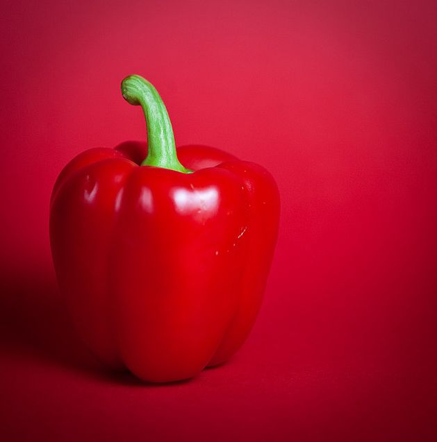 Perfect red pepper.