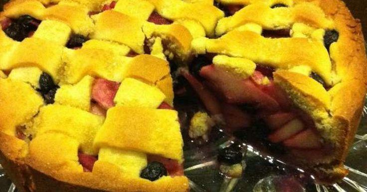 Apple Shortcake Pie
