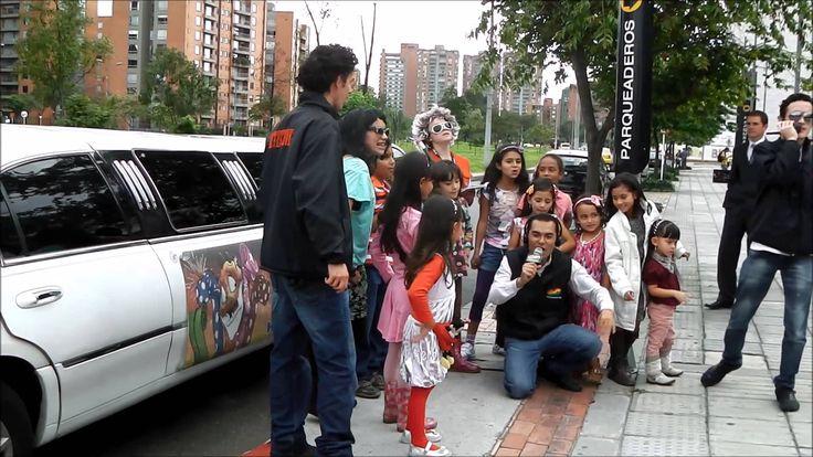 fiestas niños @limocolombia