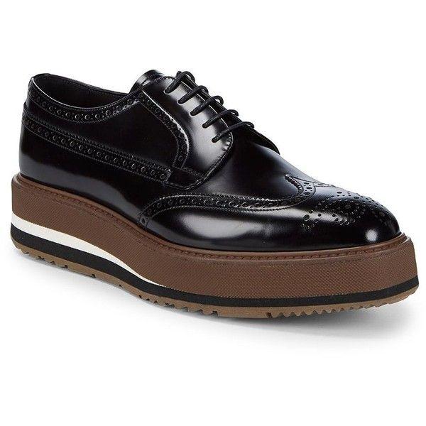 Mens black dress shoes, Black leather