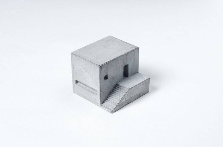 Miniature Concrete Buildings – Fubiz Media