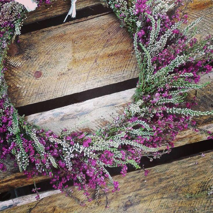 """Polubienia: 32, komentarze: 3 – Iwon (@siguriaa) na Instagramie: """"F. #czasnawrzosy #wrzosy #flowerporn #flowers #heather #autumn #meadow #wreath #florist #jesień…"""""""
