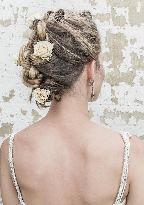 153 best blonde bridal updo images on pinterest hairstyle bride 50 elegant wedding hairstyles from vanessa barney pmusecretfo Gallery