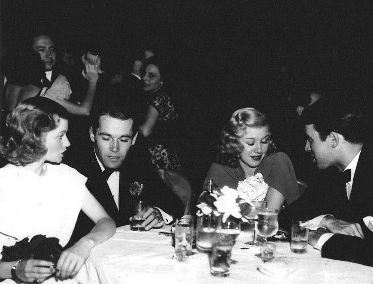 Lucille Ball, Henry Fonda, Ginger Rogers y James Stewart