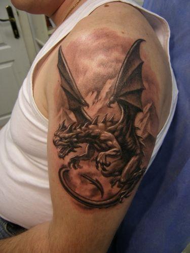 Tags dragon dragon Tattoo Shoulder Dragon Tattoos tattoo tattoo ...
